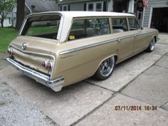 '62 Chevrolet Bel Air Station Wagon