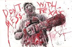 Leatherface by Ben Templesmith Comic Art All Horror Movies, Horror Films, Horror Drawing, Horror Themes, Slasher Movies, Horror Pictures, Horror Artwork, Horror Monsters, Horror Icons