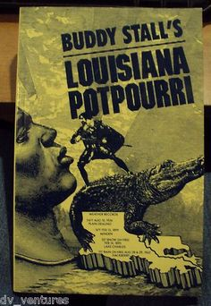Buddy Stall's Louisiana Potpourri Gaspar Stall 1991 Paperback Civil War SIGNED   Louisiana Interesting facts & information Autographed
