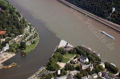Am Deutschen Eck, wo die Mosel in den Rhein mündet