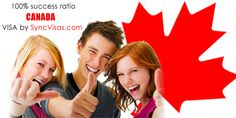 100% Success ratio of Canada Visa by SyncVisas.com