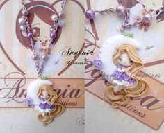 Rapunzel on the moon 2 by AngeniaC