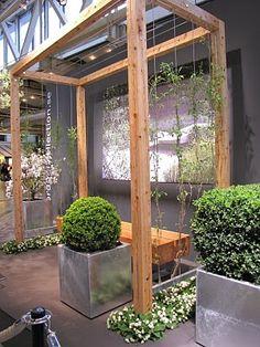 Backyard Garden Design, Vegetable Garden Design, Yard Design, Backyard Landscaping, Garden Archway, Screen Plants, Outdoor Pergola, Garden Trellis, Garden Structures