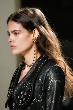 See detail photos for Rodarte Spring 2017 Ready-to-Wear collection.