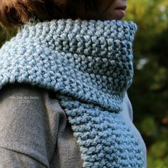 Side Line Scarf knitting pattern by Fifty Four Ten Studio.  Free on Ravelry.  Quick & easy pattern!