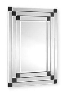 art deco bedrooms black , ivory | Home / Art Deco Mirrors / ART 30 BLACK - DECORATIVE GLASS FRAMED ...