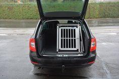Hundebox hundetransportbox für Skoda superb. Auch andere Automodell und kofferraumgrößen