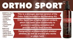 Ortho Sport Massage Oil - Buy Here from Studies, usage tips, ingredients Citrus Essential Oil, Chamomile Essential Oil, Young Living Oils, Young Living Essential Oils, Yoga Fitness, Help With Morning Sickness, Chamomile Oil, Sports Massage, Healing Oils