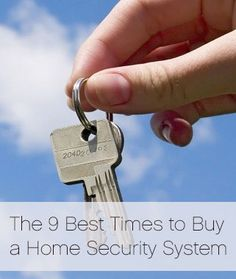 You might think the only time to get a home security alarm is when you buy a new home. We disagree. #HomeSafety