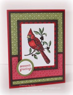 Season's Greetings... by bigsky - Cards and Paper Crafts at Splitcoaststampers