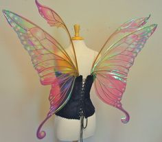 Large Swallowtail fairy wings in your choice of by TheFancyFairy, $340.00
