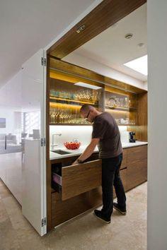 """дневник дизайнера: Идеально """"скрытая кухня"""" от Minosa Design"""