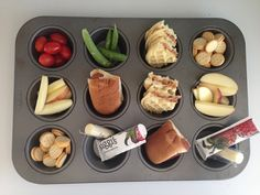 Fun summer meal: Muffin tin lunch (or dinner)