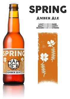 Hammer Italian Craft Beer on Packaging of the World - Creative Package Design Gallery