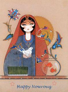 Resultado de imagen para feliz año nuevo persa