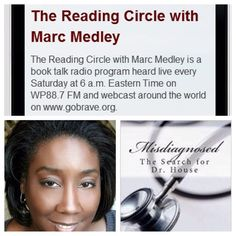 Tune in tomorrow 12/13 to hear Nika C. Beamon on The Reading Circle. Tune in at 6 a.m. ET on gobrave.org