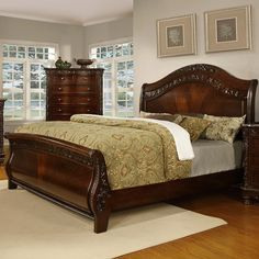 Found it at Wayfair - Patterson Sleigh Bed