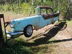 Old car repurposed a