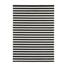 DwellStudio Petite Stripe Slate & Pearl Area Rug