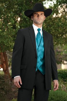Lord West Lariat Western Tuxedo Traditional Fit Tuxedo | Jim's Formal Wear