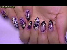 Стемпинг ногтей: как пользоваться и быстро украсить ногтики - YouTube