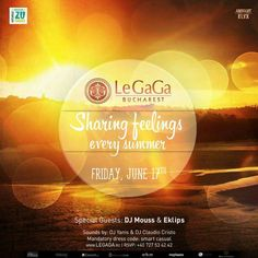 TONIGHT!! 23:00, Grand Opening Party at Le Gaga Bucharest. RSVP: +40-727.534.242