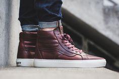 Vans Vault Builds the Sk8-Hi in Horween Leather - EU Kicks Sneaker Magazine