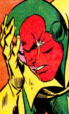 The Vision by George Tuska (Avengers #135, May 1975)