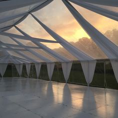 This right here is why I typically only do clear tent installations for my…