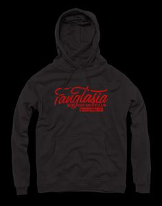 Vintage style Fangtasia hoodie, inspired by the TV show True Blood.