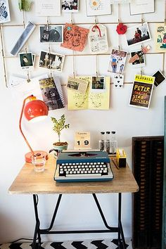idea for a writing space.