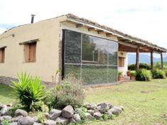 Aplicación directa del muro trombe a un cerramiento. Casa ecológica en Tucumán, Argentina.