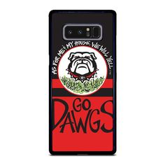 Vendor: Camoucase Type: Samsung Galaxy Note 8 Case Price: 14.90  This extravagance UGA GEORGIA BULLDOGS YELL Samsung Galaxy Note 8 Case is from durable hard plastic or silicone rubber in black or white color. This case shall give secure and impressive style to your phone. each case is printed using best printing machine to provide highest quality image. It is easy to snap in and install the case. The case will covers the back sides and corners of phone from scratches and bumps together with… Samsung Galaxy Note 8, Galaxy S8, S7 Case, 6s Plus Case, Apple Iphone 6, Iphone 7, Iphone Cases, Georgia Bulldogs, Silicone Rubber