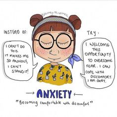 Anxiety  Opportunity #Repost via@_drkelso #goodmentalhealth #PsychologicalQuotesAnxietyDisorder Mental And Emotional Health, Good Mental Health, Mental Health Awareness, Anxiety Tips, Anxiety Help, Controlling Anxiety, Anxiety Facts, Coaching, Paz Mental