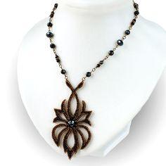 Beautiful Beadwork by Olga Arsentieva featured in recent Bead-Patterns Newsletter!