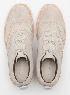 SPECTUS SHOES WingTip Balmoral - Leather Kip Suede