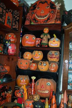 "Vintage Halloween Collection   ""Vintage Halloween"" by riptheskull, via Flickr"