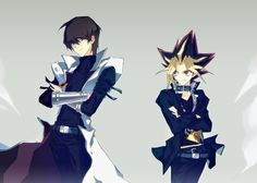Yu-Gi-Oh! - Yami and Kaiba