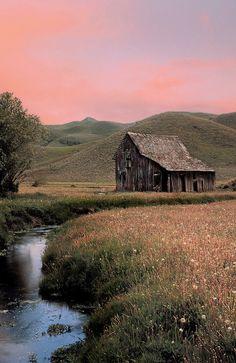Pioneer Mountains, Idaho by Leland Howard