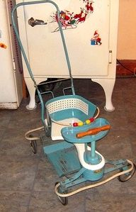 The olde Taylor-Tot baby stroller. . . .