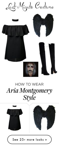 """Last Minute Halloween costume"" by mayraflores534 on Polyvore featuring Bianca Di and halloweencostume"