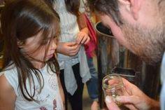 Un public y compris d'enfants toujours curieux de découvertes