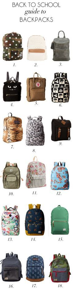 back to school backpacks for kids and teens