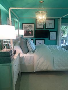 Thai Teal by Glidden - Wall Color