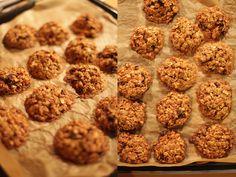 Foodmess: Zdrowe ciasteczka owsiane.