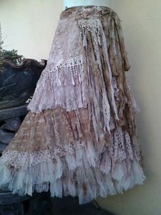 Your place to buy and sell all things handmade Bohemian Skirt, Gypsy Skirt, Boho Skirts, Bohemian Gypsy, Gypsy Style, Hippie Style, Bohemian Style, Boho Beautiful, Beautiful Dresses