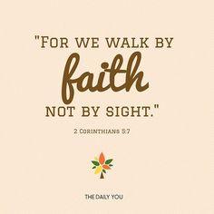 Walk By Faith, Trust God, Instagram Posts