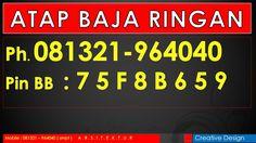 Ph.081321-964040 Atap Baja Ringan, Harga Baja Ringan, Bandung