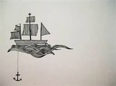 sailboat tattoo - would eventually one day like to add a boat like this to the anchor tattoo I already have