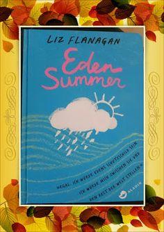 Liz Flanagan - Eden Summer  Ein leicht zu lesendes Buch, welches unterschwellig eine Botschaft mitgeben möchte und Wege aus einer Krise aufzeigt. Jedoch hat es mich nicht gepackt und mitgerissen. Die Geschichte ist schön und hat auch die ein oder anderen spannenden Passagen enthalten, aber so richtig überzeugen konnte sie mich nicht. Schöne Geschichte ohne Whow-Effekt.